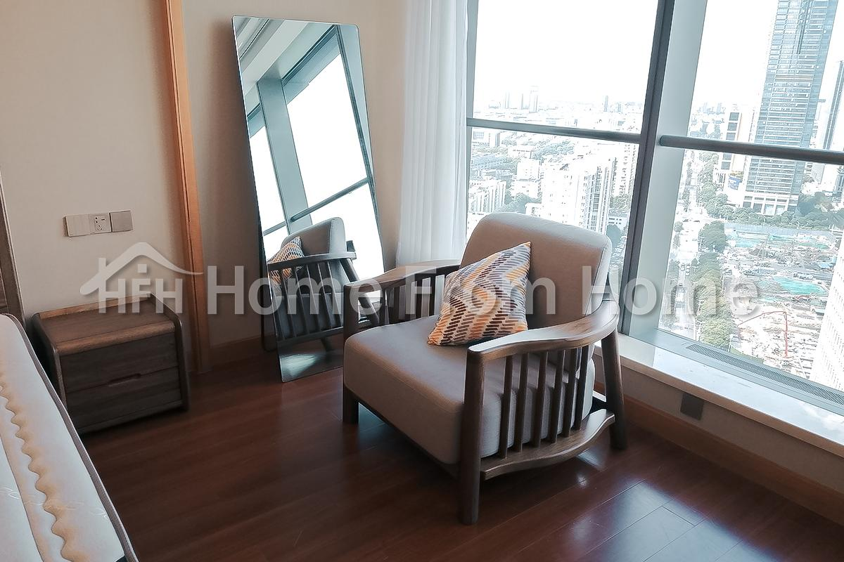 T-Suzhou Center 1bdr+1 bath Central AC Great View of Suzhou Neat Living Environment!